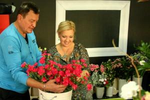 Bukiet z róż - kurs florystyczny Gdańsk