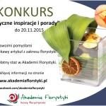 Konkurs - Florystyczne inspiracje i porady