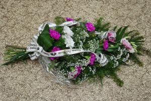 bukiet-na-pogrzeb-różowo-biały