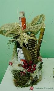 Dekoracja i zdobienie butelki