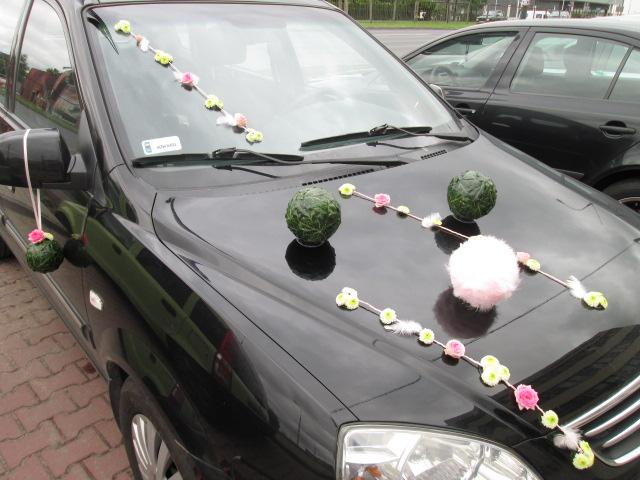 Poważnie Dekoracja aut ślubnych kwiatami - ozdabianie samochodu na ślub OD88
