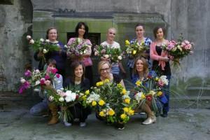 Florysta kurs Kraków - zdjęcie grupowe po kursie
