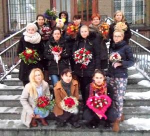 Florystyka Katowice - uczestniczki