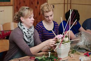 Florystyka Rzeszów - praca w grupach