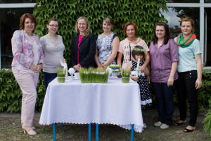 Florystyka Zielona Góra - zdjęcie grupowe po kursie