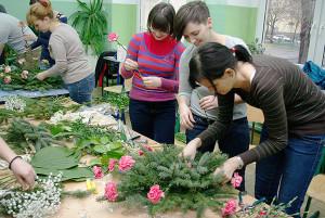 Kurs florystyczny Bydgoszcz - florystyka żałobna