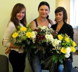 Kurs florystyczny Bydgoszcz - prezentacja kompozcyji