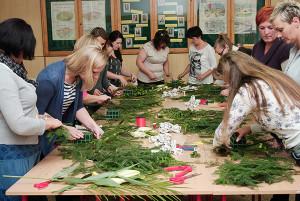 Kurs florystyczny Gdańsk - na kursie