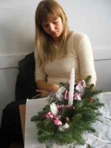 Kurs florystyczny Katowice - stroik wielkanocny