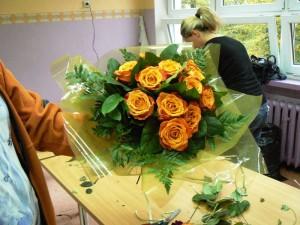 Kurs florystyczny Wrocław - bukiet
