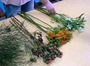 Kurs florystyczny - przygotowanie kwiatów