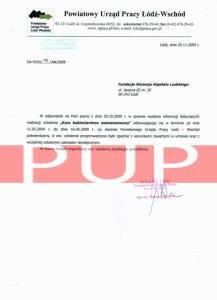 Referencje kurs florystyczny - Powiatowy Urząd Pracy Łódź