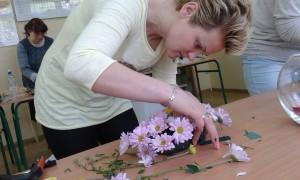 Kurs florystyki - florystka i kompozycja w naczyniu
