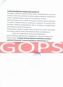 Referencje kurs florystyczny - GOPS Bochnia strona 2
