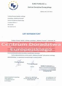 Referencje kurs florystyczny - Centrum Doradztwa Europejskiego w Gdańsku