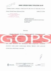 Referencje kurs florystyczny - GOPS Lublin