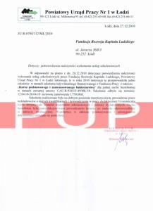 Referencje kurs florystyczny - PUP Łódź 2