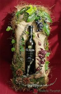 Ozdobne pakowanie butelek z winem