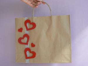 Walentynkowe pakowanie prezentów