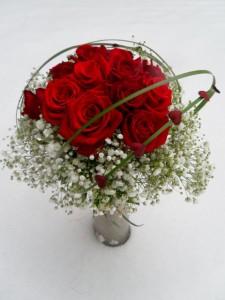 bukiet na walentynki z róż
