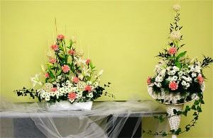 Dekoracja sali weselnej na stół