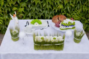 kurs florystyczny - florystyka ślubna, dekoracja stołu