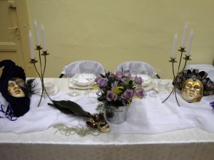 Nietypowa dekoracja stołu