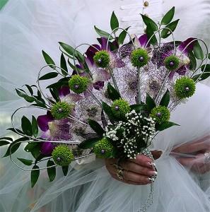 jak zrobić wachlarz ślubny