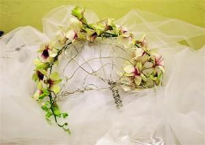 romantyczny wachlarz ze storczyków