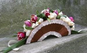 wachlarz na ślub dla panny młodej