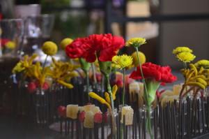 targi florystyczne - goździki