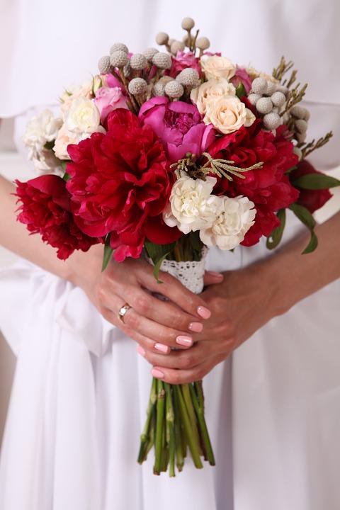 bukiet ślubny - whimsical