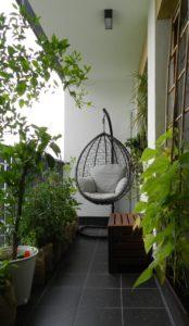 balkon-fotel wiszący