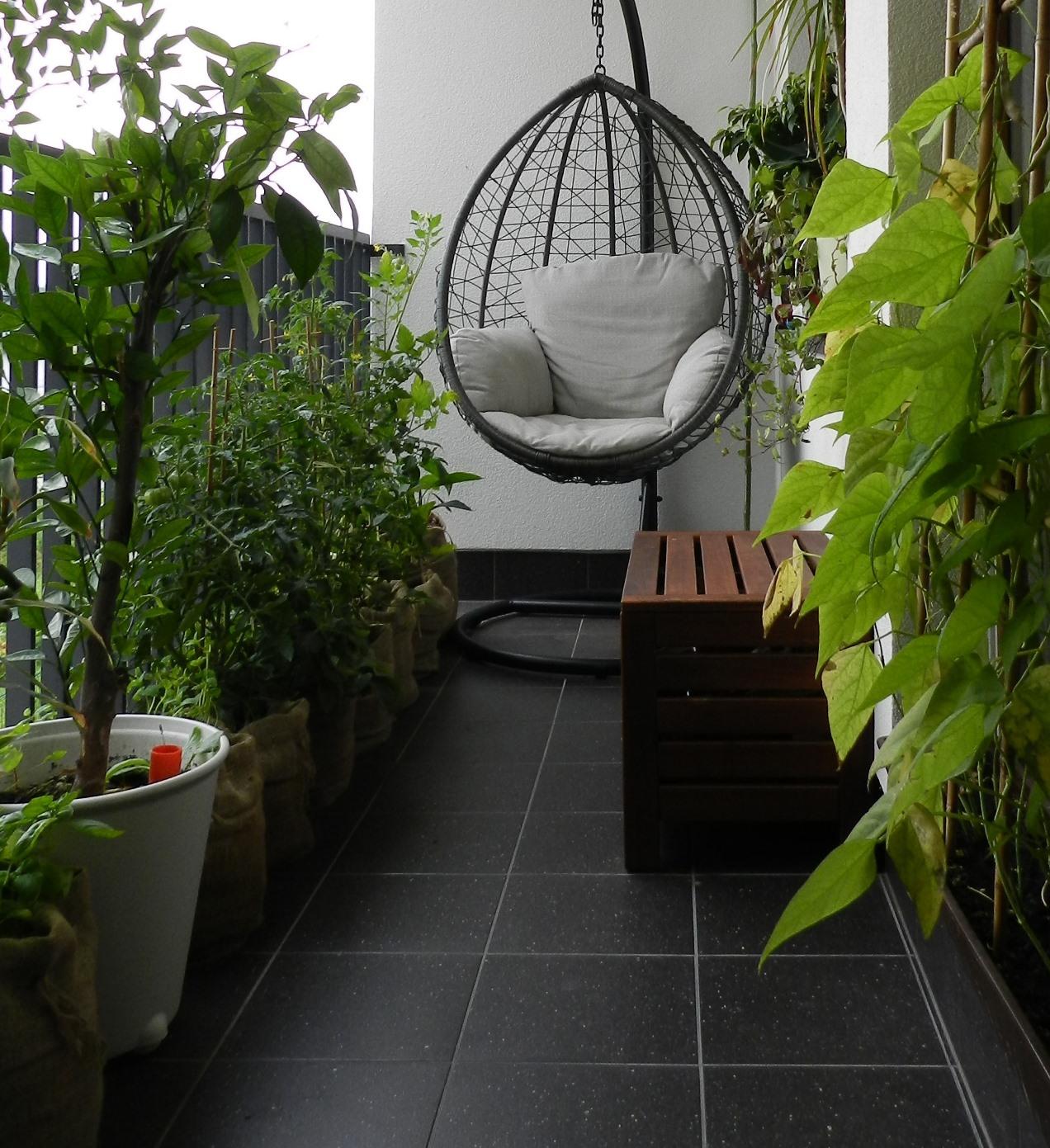 donice jutowe - balkon