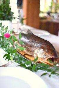 chrzest - potrawy