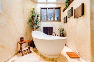 rośliny do łazienki - światło
