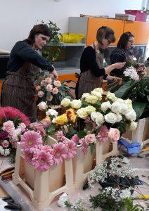 Zajęcia praktyczne - kurs florystyki