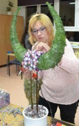 kurs-florystyki-gdańsk-dekoracja-bożonarodzeniowa