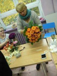 Florystyka Katowice w trakcie kursu