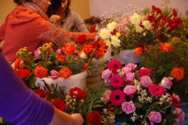 Florystyka Kraków - przygotowanie kwiatów