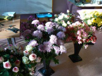 Florystyka kurs - kwiaty czekają na kursantów