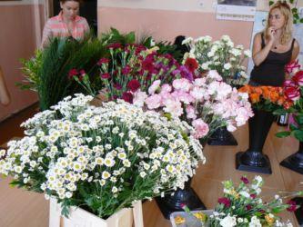 Florystyka - przygotowanie sali