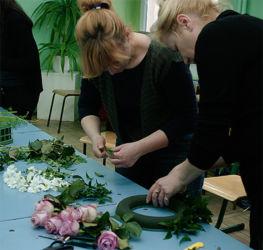 Kurs florystyczny Rzeszów - jak zrobić wieniec