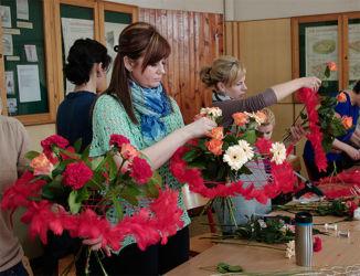 Kurs florystyczny w Katowicach - praca nad bukietami