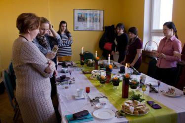 Kurs florystyczny Zielona Góra - świąteczna dekoracja stołu