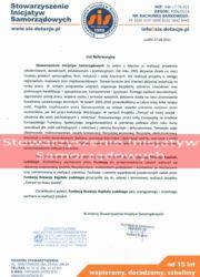 Referencje kurs florystyczny - Stowarzyszenie Inicjatyw Samorządowych Lublin