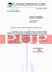 Referencje kurs florystyczny - Urząd Pracy Łódź