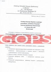 Referencje kurs florystyczny - GOPS Bochnia