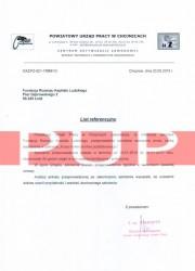 Referencje kurs florystyczny - PUP Chojnice