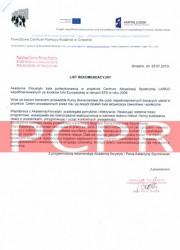 Referencje kurs florystyczny PCPR Gniezno